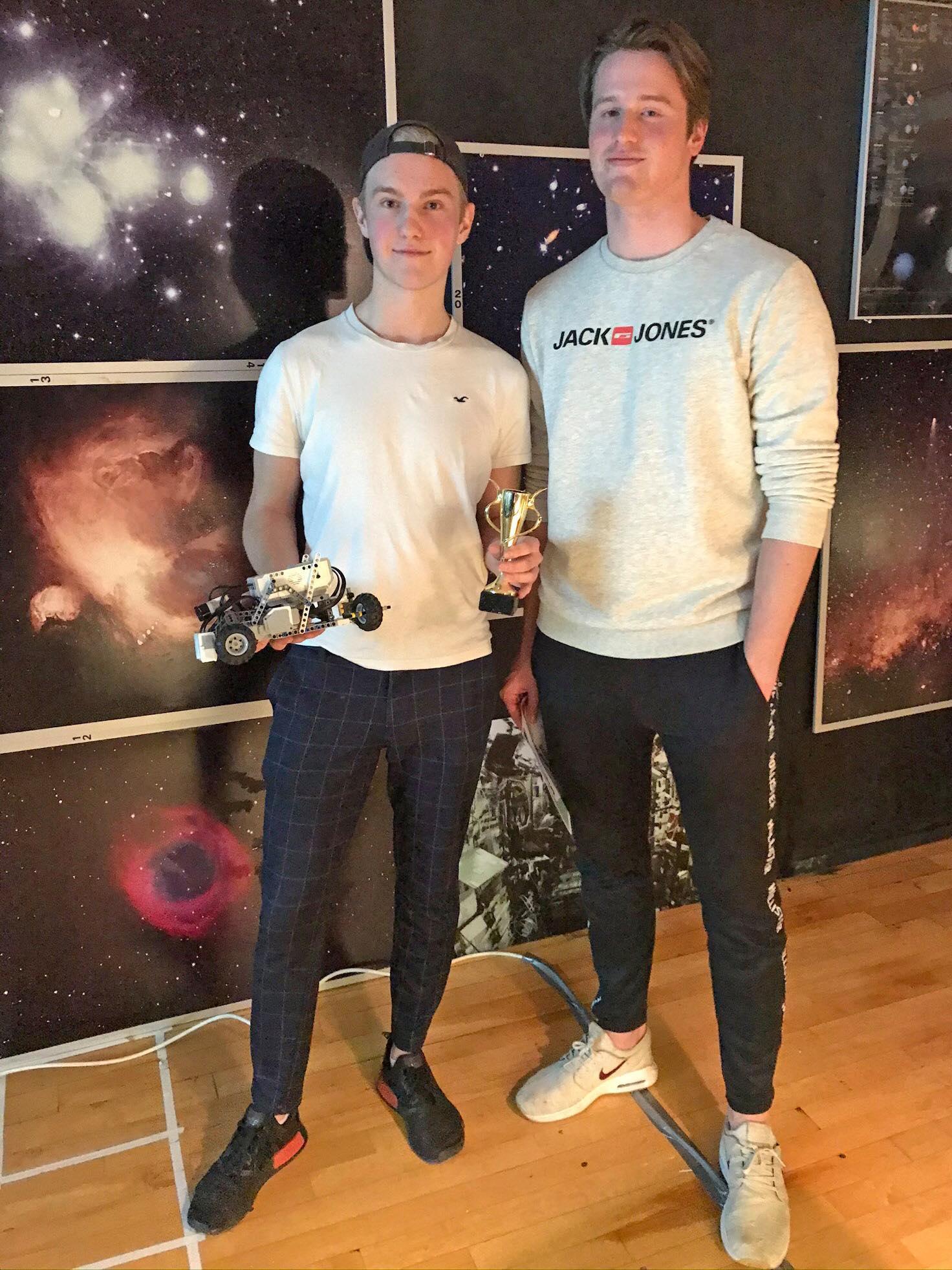 RoboCup Junior 2020 1:a plats KnutHahn