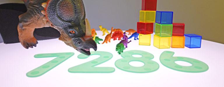Räkna med dinosaurier